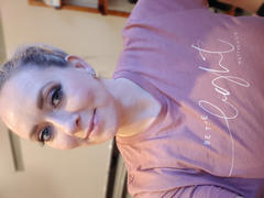 Closet Candy Boutique Be The Light Graphic Tee - Dusty Rose Review
