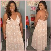 Closet Candy Boutique Come Away With Me Maxi Dress - Dusty Rose Review