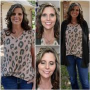 Closet Candy Boutique She's a Wild One Knit Top - Blush Review