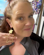 Closet Candy Boutique Starring You Earrings - Vintage Gold Review