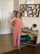 Closet Candy Boutique CBRAND Margaritas at Sunset Jumpsuit - Dusty Rose Review