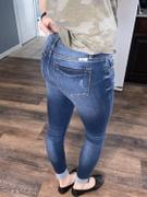 Closet Candy Boutique KAN CAN Raw Hem Jeans - Medium Wash Review
