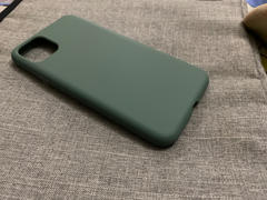 allmytech.pk iPhone 11 Pro Max Liquid Silicon Case by X Fitted - Pine Green Review