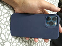 allmytech.pk Apple iPhone 12 / iPhone 12 Pro Cloud Super Soft Case by ESR - Midnight Blue Review
