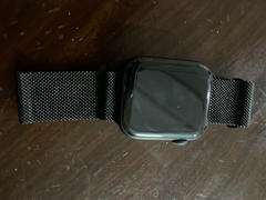 allmytech.pk Raptic Mesh Band X Doria made with Real Stainless Steel for Apple Watch Models 6/SE/5/4/3/2/1 44 mm / 42 mm - Black Review