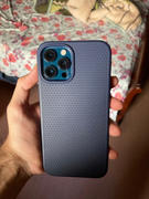 allmytech.pk Apple iPhone 12 Pro Max Liquid Air Case by Spigen - ACS02247 - Navy Blue Review