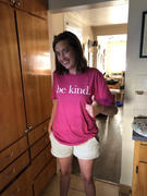 Faith Hope Love Boutique be kind. Pink Cotton T-Shirt (Quick Ship) Review