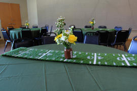 tableclothsfactory.com 120 Moss Green Polyester Round Tablecloth Review