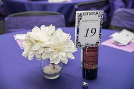 tableclothsfactory.com 120 Purple Polyester Round Tablecloth Review