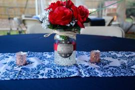 tableclothsfactory.com 132 Navy Blue Polyester Round Tablecloth Review