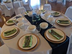 tableclothsfactory.com 5 Pack 17x17 Apple Green Polyester Linen Napkins Review