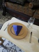 tableclothsfactory.com 5 Pack 17x17 Royal Blue Polyester Linen Napkins Review