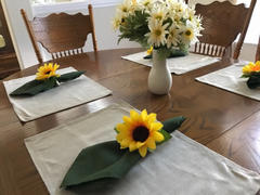 tableclothsfactory.com 5 Pack 20x20 Moss Green Polyester Linen Napkins Review