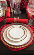 tableclothsfactory.com 5 Pack 20x20 Red Polyester Linen Napkins Review
