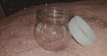 tableclothsfactory.com Set of 12 | 6 Oz Plastic Candy Jars Favor Container With White Caps Review