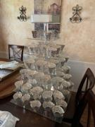 tableclothsfactory.com 7 Tier Acrylic Square Cupcake Stand | 25 Height | Cake Stand | Display Stand Review