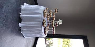tableclothsfactory.com 8 Tier Clear Acrylic Cupcake Cake Stand Review