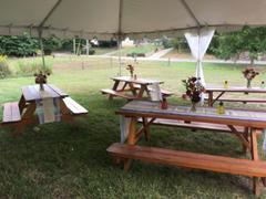 tableclothsfactory.com Designer Natural Rustic Burlap Jute Lace Runner For Garden Party Wedding Review
