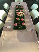 tableclothsfactory.com 12x108 Artificial Grass Table Runner Review