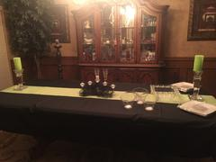 tableclothsfactory.com 12x108 Apple Green Polyester Table Runner Review