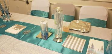 tableclothsfactory.com Silver Spandex Stretch Folding Chair Cover Review