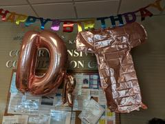 tableclothsfactory.com 40 Blush Mylar Foil Letter Helium Balloons Review