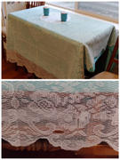 tableclothsfactory.com 54x72 Premium Lace Ivory Rectangular Oblong Tablecloth Review