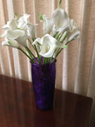 tableclothsfactory.com 20 Pack | 14 Tall | White Artificial Calla Lily Flowers | Real Touch Flowers Review