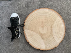 tableclothsfactory.com 18 Dia | Extra Large Rustic Natural Wood Slices | Round Poplar Wooden Slab Review