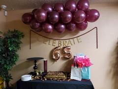 tableclothsfactory.com 25 Pack | 12 | Burgundy Pearl Balloon | Water Air Helium Party Latex Balloons Review