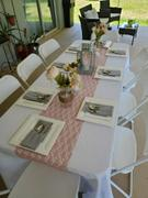 tableclothsfactory.com 12 x 108 Dusty Rose Floral Lace Table Runner Review