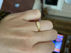 Starling Jewelry Moon & Star Diamond Signet Ring Review