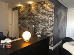 DecorZee Multi-Color Vinyl Rustic Faux Brick Wallpaper Review
