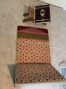 Modefa Convertible Travel Prayer Mat with Backrest - Selcuk Creme/Purple Review