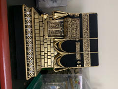 Modefa Islamic Table Decor Kaba Replica Gold & Black LARGE 2146 Review
