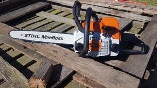 GYC Mower Depot Stihl MS180 Petrol Chainsaw Review