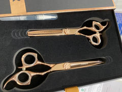iCandy Scissors iCandy ALL STAR Rose Gold Scissor & Thinner Bundle (6 inch) Limited Edition! Review