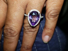 Kobelli Pear Lavender Amethyst and Diamond (4 5/8 CTW) Review