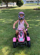 Rosso Motors Kids Toys eQuad S Pink 500W ATV 4 Wheeler for Girls Review