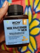 Buywow WOW Life Science Multivitamin for Men - with Glycine, Green Tea, Turmeric, Vitamins - 60 Veg Capsules Review