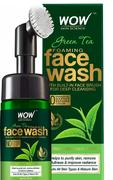 Buywow WOW Skin Science Green Tea Foaming Face Wash - With Green Tea & Aloe Vera Extract - For Purifying Skin, Improving Radiance - No Parabens, Sulphate, Silicones & Color -  100 ml Review