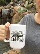 Diverse Threads Yes I Do Have a Retirement Plan, Camping - Mug Review