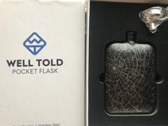 Well Told Custom Night Sky Pocket Flask Review