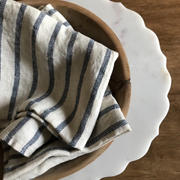 Rough Linen French Stripe Linen Tea Towel Review