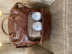 KaryKase Mally Bambino Leather Baby Backpack | Brown Review