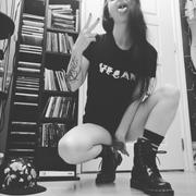 The Vegan Vibe Store Not Animals | Womens Fitted Tee Review