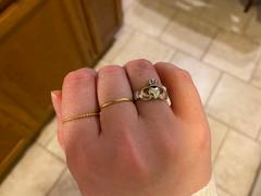 Quince 14k Gold Stacker Ring Review