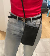 Quince Italian Pebbled Leather Phone Crossbody Review