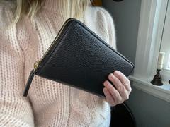 Quince Italian Pebbled Leather Continental Wallet Review