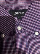 Quince Carbon Wash Micro Check Shirt Review
